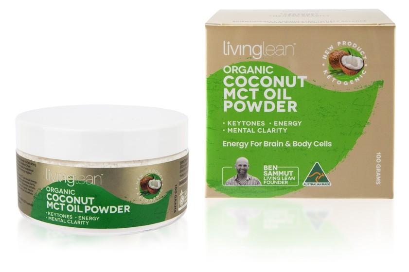 Organic Coconut MCT Oil Powder (100g)