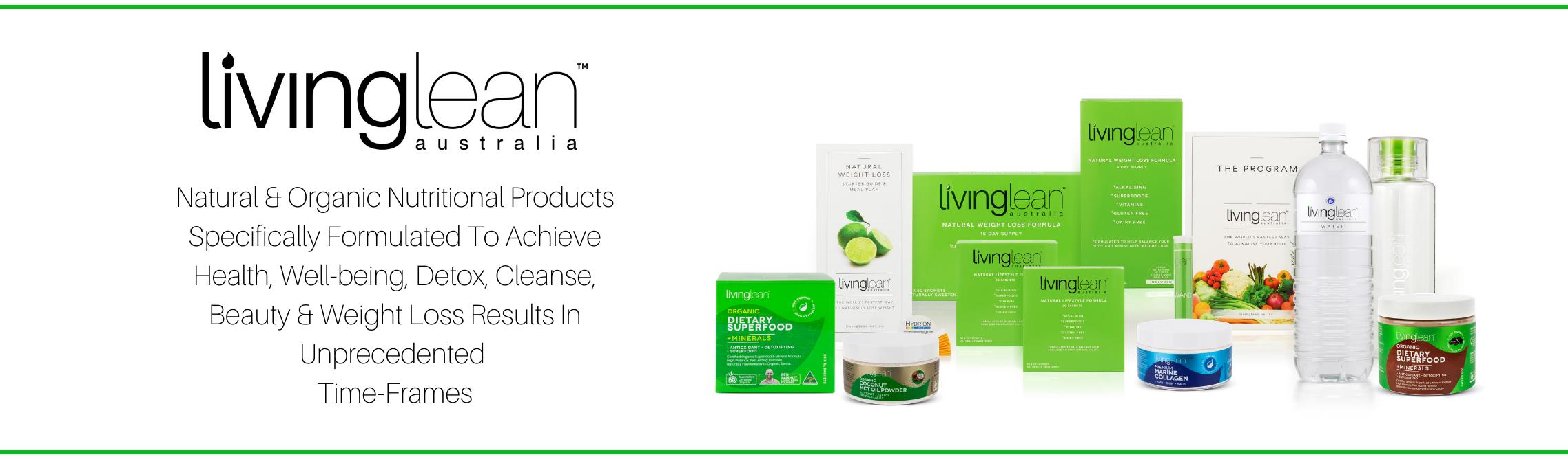 header living lean detox cleanse weight loss alkaline