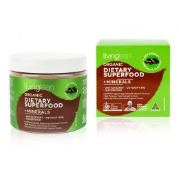 Organic Dietary Superfood + Minerals - Cacao Flavour (300 grams)